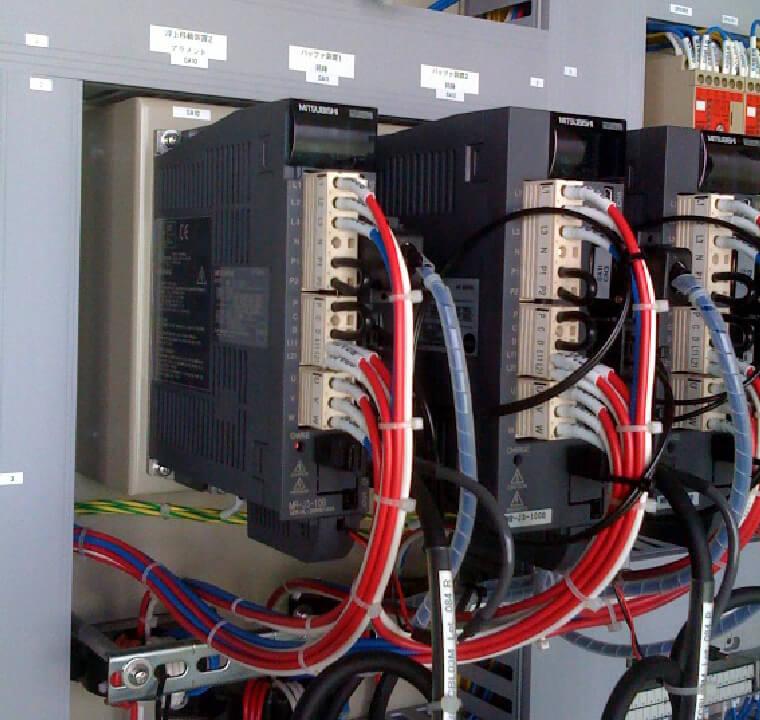 自動制御盤製作/電気工事
